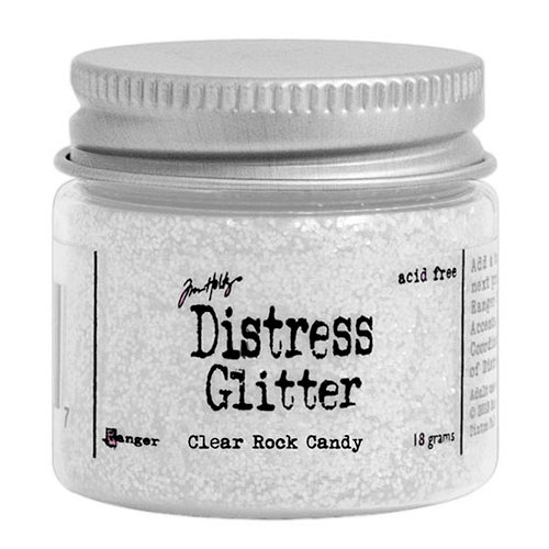 Ranger Ink - Tim Holtz - Distress Glitter - Clear Rock Candy