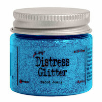 Ranger Ink - Tim Holtz - Distress Glitter - Faded Jeans