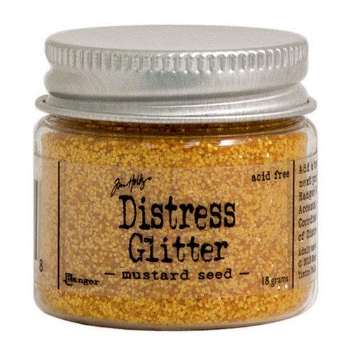 Ranger Ink - Tim Holtz - Distress Glitter - Mustard Seed