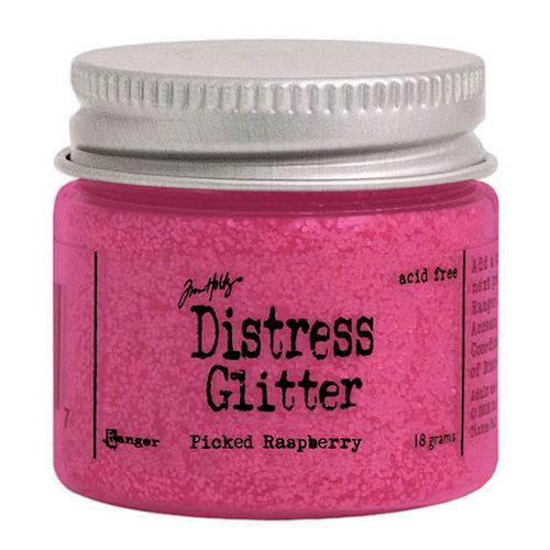 Ranger Ink - Tim Holtz - Distress Glitter - Picked Raspberry