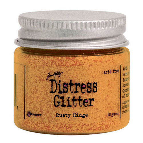 Ranger Ink - Tim Holtz - Distress Glitter - Rusty Hinge