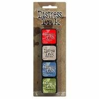 Ranger Ink - Tim Holtz - Distress Ink Pads - Mini Kit - Five