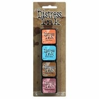 Ranger Ink - Tim Holtz - Distress Ink Pads - Mini Kit - Six