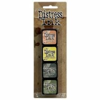 Ranger Ink - Tim Holtz - Distress Ink Pads - Mini Kit - Ten