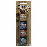 Ranger Ink - Tim Holtz - Distress Ink Pads - Mini Kit - Twelve