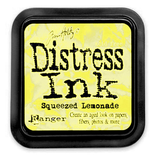 Ranger Ink - Tim Holtz - Distress Ink Pads - Squeezed Lemonade