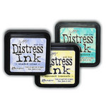 Ranger Ink - Tim Holtz - Distress Ink Pads - Spring - Limited Edition - 3 Pack