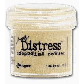 Ranger Ink - Tim Holtz - Distress Embossing Powder - Antique Linen