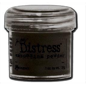 Ranger Ink - Tim Holtz - Distress Embossing Powder - Black Soot