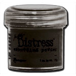 Ranger Ink - Tim Holtz - Distress Embossing Powder - Black Soot