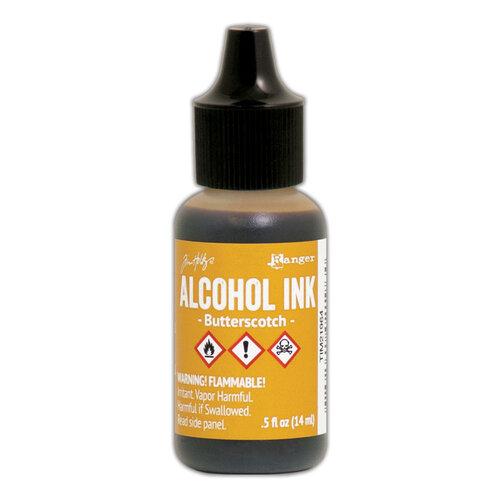Ranger Ink - Tim Holtz - Adirondack Alcohol Ink - Butterscotch
