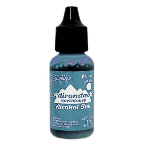 Ranger Ink - Tim Holtz - Adirondack Alcohol Ink - Stonewashed