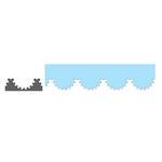 Tonic Studios - Simplicity Pattern Punch - Scalloped Arc Border
