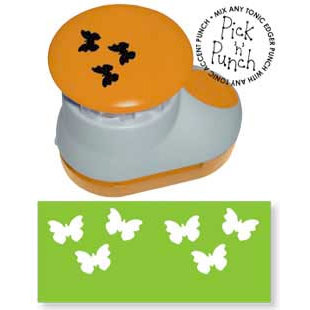 Tonic Studios - Pick N Punch - Paper Punch - Accent - Butterflies, BRAND NEW - click to enlarge