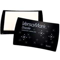 VersaMark - Dazzle Collection - Watermark Stamp Pad - Frost
