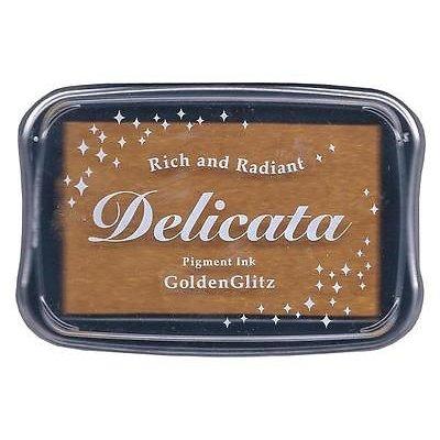 Tsukineko - Delicata - Ink Pad - Golden Glitz