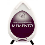 Tsukineko - Memento - Fade Resistant Dye Ink Pad - Dew Drop - Elderberry