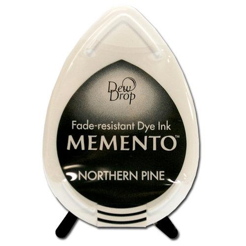 Tsukineko - Memento - Fade Resistant Dye Ink Pad - Dew Drop - Northern Pine