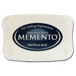 Tsukineko - Memento - Fade Resistant Dye Ink Pad - Nautical Blue