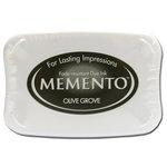 Tsukineko - Memento - Fade Resistant Dye Ink Pad - Olive Grove