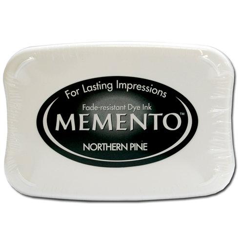 Tsukineko - Memento - Fade Resistant Dye Ink Pad - Northern Pine