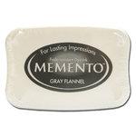 Tsukineko - Memento - Fade Resistant Dye Ink Pad - Gray Flannel