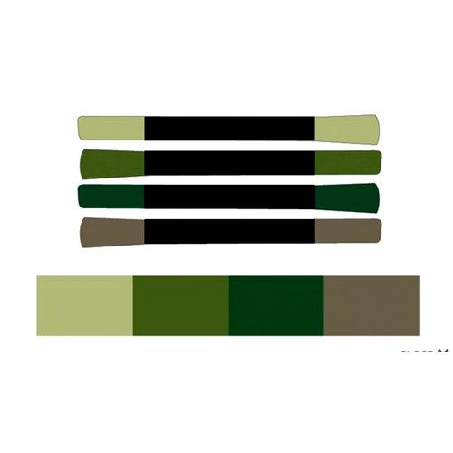 Tsukineko - Memento - Fade Resistant Markers - Central Park - Set of Four