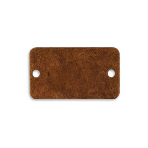 Vintaj Metal Brass Company - Artisan Copper - Metal Bracelet Blank - Rectangular