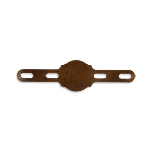 Vintaj Metal Brass Company - Artisan Copper - Metal Altered Blanks - Regal Ring and Bracelet Blank