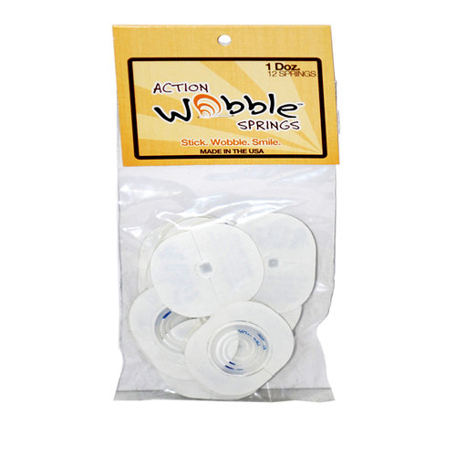 Action Wobble - Self Adhesive Springs - 12 Pack