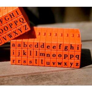 Mason Row - Pegz - Rubber Stamp Set - Lower Case - Bodoni Font