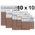 Bind It All - Zutter - Clip-Board Wood Covers - 10x10