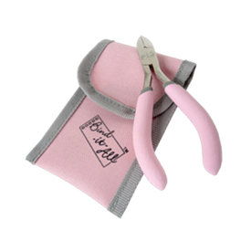 Zutter - Bind-It-All - Pink Owire Cutters in Pouch