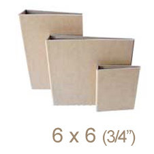 Zutter - 6 x 6 Cover All - Three Quarter Inch Flat Spine - Craft
