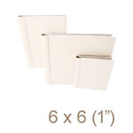 Zutter - 6 x 6 Cover All - One Inch Curved Spine - White