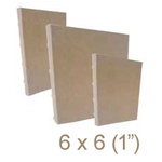 Zutter - 6 x 6 Cover All - One Inch Bamboo Spine - Craft