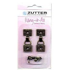 Zutter - Hang-it-All - Metal Hangers - Antique Brass