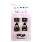 Zutter - Hang-it-All - Metal Hangers - Antique Brass