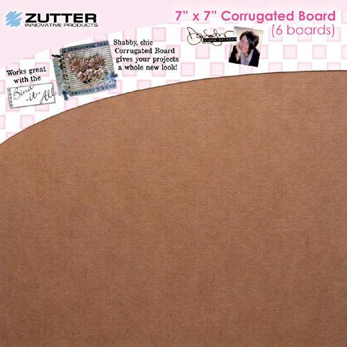 Zutter - Donna Salazar - Corrugated Board - 7 x 7