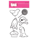 Pink Paislee - Clear Stamps - Vintage Pop