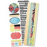 Pink Paislee - Winsome - Fascinating Collection - Spiral Sticker Book, CLEARANCE