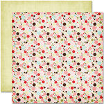 Pink Paislee - Cupid Collection - 12 x 12 Double Sided Paper - Bullseye
