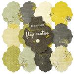 Pink Paislee - Queen Bee Collection - Flip Notes - Die Cut Journal Pad