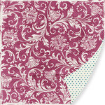 Pink Paislee - Bayberry Cottage Collection - 12 x 12 Double Sided Paper - Gazebo