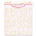 Pink Paislee - Artisan Collection - Elements - Alphabets