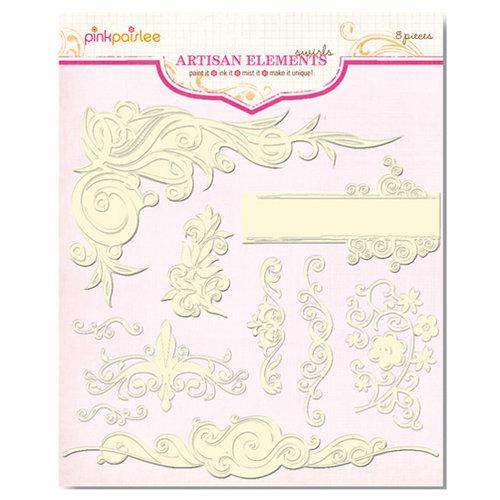 Pink Paislee - Artisan Collection - Elements - Swirls