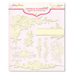 Pink Paislee - Artisan Collection - Elements - Swirls