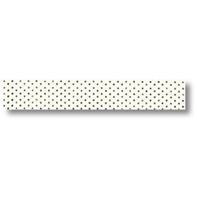 Pink Paislee - Artisan Collection - Paper Tape - Black Dots