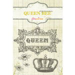 Pink Paislee - Queen Bee Collection - Clear Stamps - Impressions , BRAND NEW