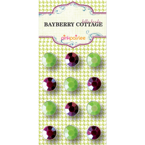 Pink Paislee - Bayberry Cottage Collection - Bella Brads, CLEARANCE